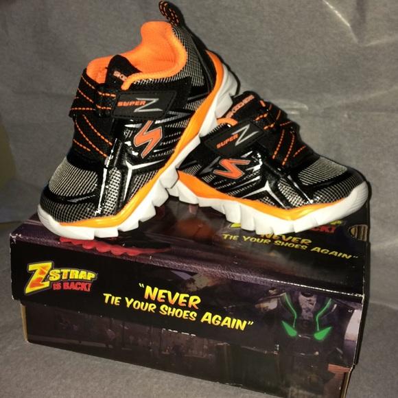 Sketchers Z Strap Boys Tennis Shoes